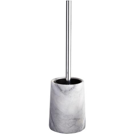 Athena Freestanding Marble Toilet Brush & Holder