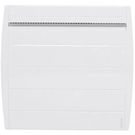 Radiateur électrique horizontal à chaleur douce Nirvana Digital 500W - Blanc - 615 X 497 X 135 (mm) - Blanc