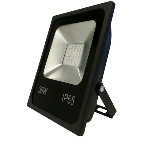 Atlantic'S - Projecteur LED à dissipateur thermique 30W - Noir