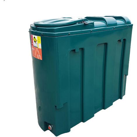Atlantis 1000 Litre Slimline Bunded Plastic Oil Tank CE Approved OFTEC BUP.R1000S