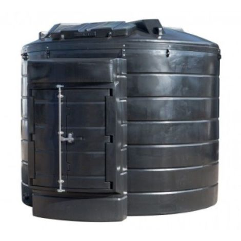 Atlantis 10000 Litre Vertical Bunded Plastic Oil Tank CE Approved OFTEC BUP.V10000