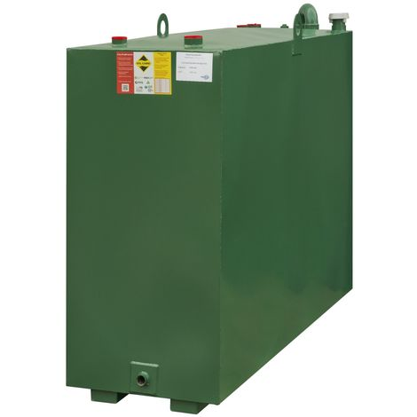 Atlantis 1050 Litre Bunded Steel Oil Tank CE Approved OFTEC BUS.1050