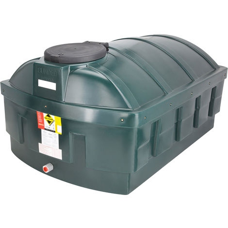 Atlantis 1200 Litre Low-Profile Bunded Plastic Oil Tank CE Approved OFTEC BUP.LP1200
