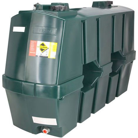Atlantis 1220 Litre Slimline Single Skin Plastic Oil Tank SIP.R1220