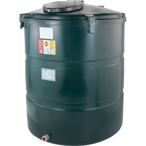 Atlantis 1230 Litre Vertical Bunded Plastic Oil Tank CE Approved OFTEC BUP.V1230