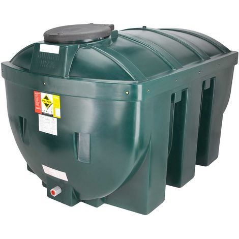 Atlantis 1235 Litre Horizontal Bunded Plastic Oil Tank CE Approved OFTEC BUP.H1235