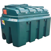 Atlantis 1300 Litre Horizontal Bunded Plastic Oil Tank CE Approved OFTEC BUP.H1300