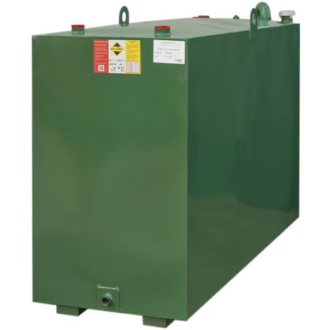 Atlantis 1350 Litre Bunded Steel Oil Tank CE Approved OFTEC BUS.1350