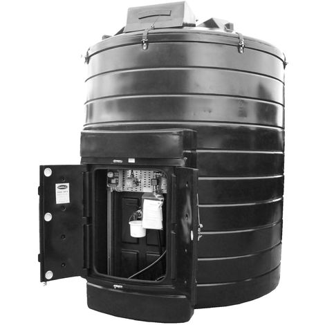 Atlantis 15000 Litre Vertical Bunded Plastic Oil Tank CE Approved OFTEC BUP.V15000