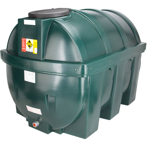 Atlantis 1800 Litre Horizontal Bunded Plastic Oil Tank CE Approved OFTEC BUP.H1800