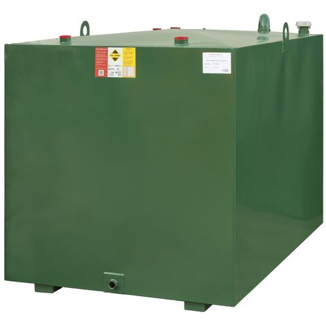Atlantis 2250 Litre Bunded Steel Oil Tank CE Approved OFTEC BUS.2250