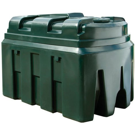 Atlantis 2450 Litre Horizontal Bunded Plastic Oil Tank CE Approved OFTEC BUP.H2450