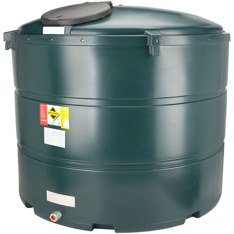 Atlantis 2455 Litre Vertical Bunded Plastic Oil Tank CE Approved OFTEC BUP.V2455