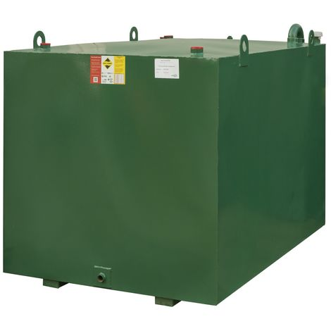 Atlantis 2700 Litre Bunded Steel Oil Tank CE Approved OFTEC BUS.2700