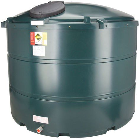 Atlantis 3500 Litre Vertical Bunded Plastic Oil Tank CE Approved OFTEC BUP.V3500
