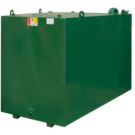Atlantis 4500 Litre Bunded Steel Oil Tank CE Approved OFTEC BUS.4500