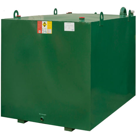 Atlantis 6800 Litre Bunded Steel Oil Tank CE Approved OFTEC BUS.6800