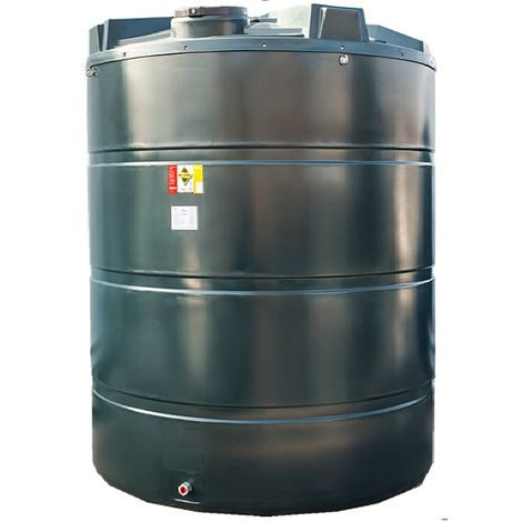 Atlantis 9400 Litre Vertical Bunded Plastic Oil Tank CE Approved OFTEC BUP.V9400