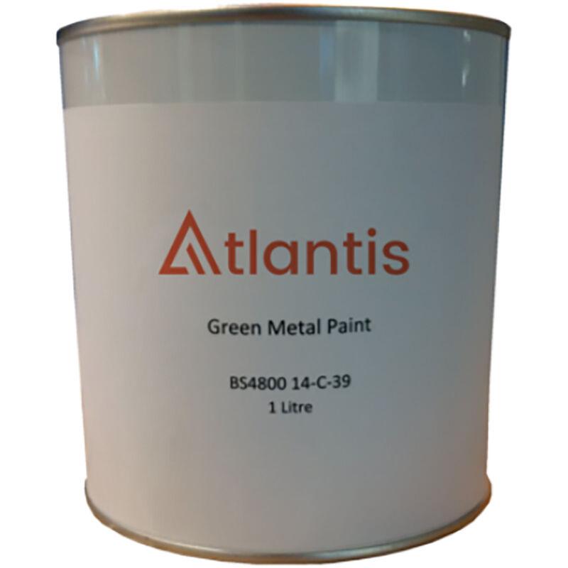 Image of Atlantis Black Metal Tank Paint (1 Litre) - AC.MTPAINT.B
