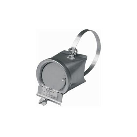 ATMOS Zugbegrenzer für Heizkessel V4A Rauchrohr Abgasrohr Nebenluft 130-160 mm