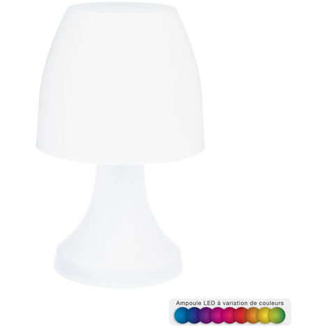 Atmosphera - Lampe blanche LED Dokk H27