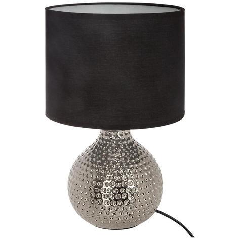 Atmosphera - Lampe céramique martelée goutte H38