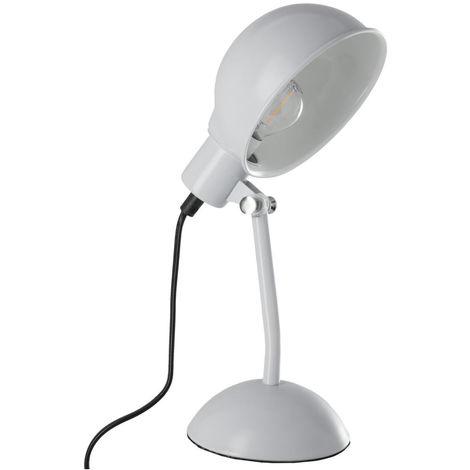 Atmosphera - Lampe de chevet métal grise