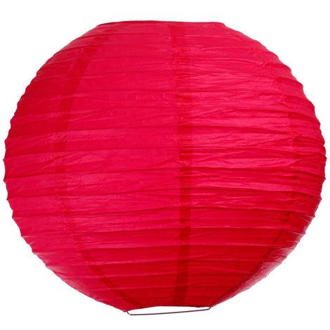 Atmosphera - Lanterne boule uni rose D35