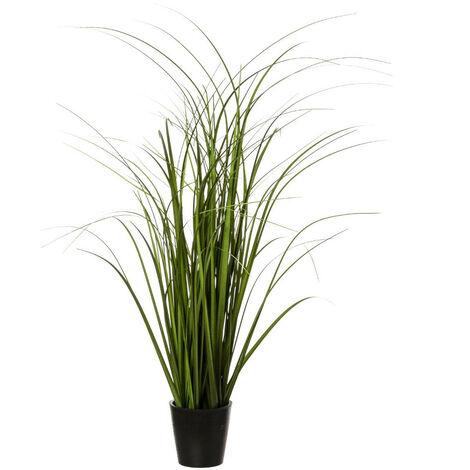 Atmosphera - Plante artificielle Bouquet d'Herbes en pot H 50 cm