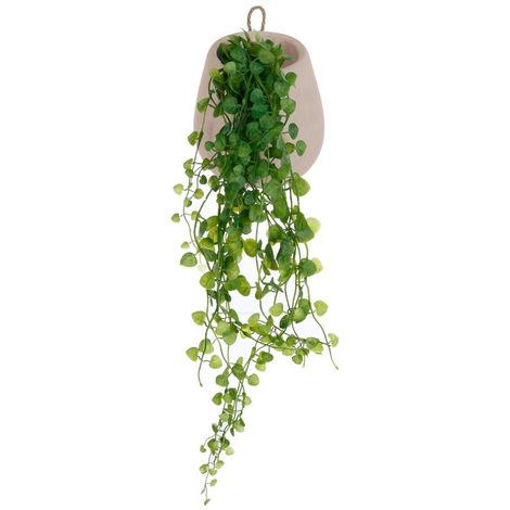 Atmosphera - Plante artificielle Lierre en pot à suspendre