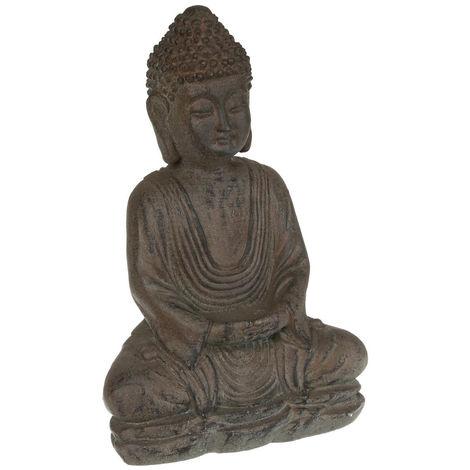 Atmosphera - Statue bouddha en pierre