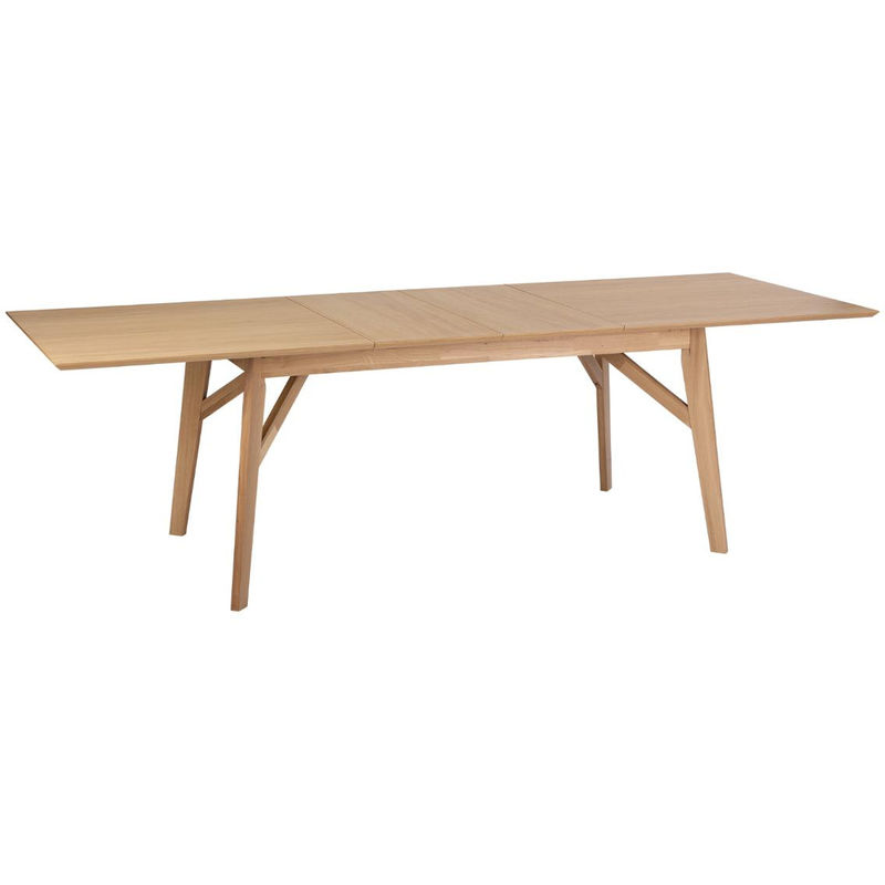 Atmosphera Table De Salle A Manger Chene Extensible 180 260 Cm Armel