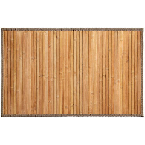 Atmosphera Tapis Bambou Latte Naturel 50x80 131569d