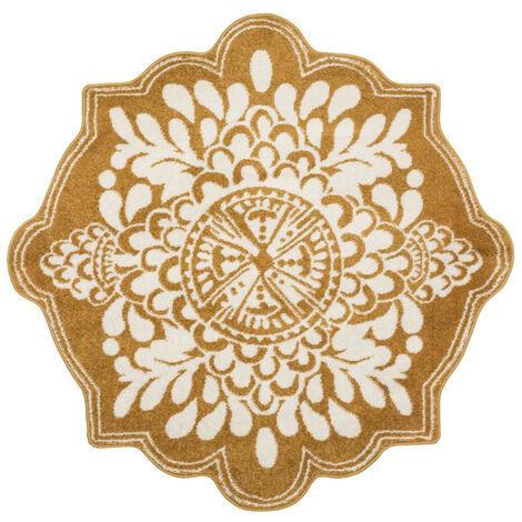 Atmosphera - Tapis décoratif poil ras D 120 cm