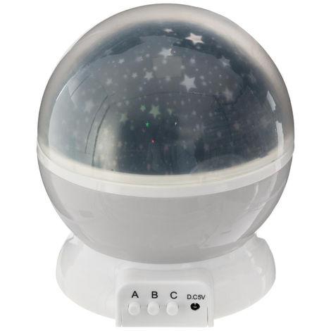 Atmosphera - Veilleuse avec lumière projetée et rotative