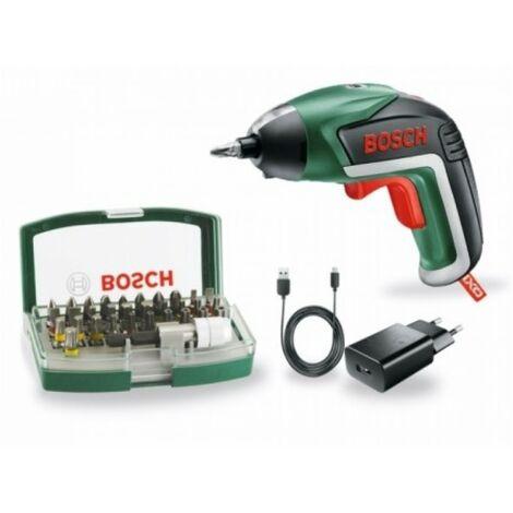 Atornillador Bat 3,6Vli 1,5Ah + 32 Puntas Ixo Bosch