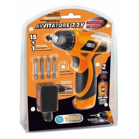Atornillador Bateria 7,2Vli Pg-72V Pg Tools