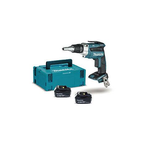 Atornillador BL 18V LXT 0 - 2.500 rpm 5Ah 2 bat. punta Makita