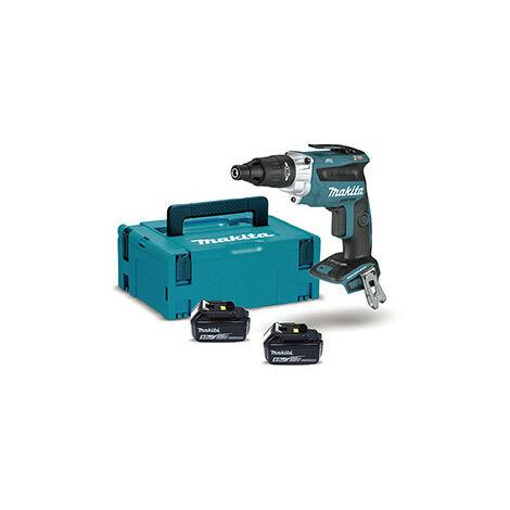 Atornillador BL 18V LXT 0 - 2.500 rpm 5Ah 2 bat. vaso Makita