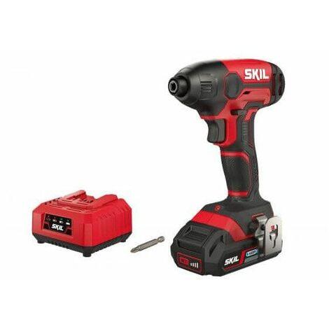 Atornillador de Impacto 20V Max Skil 3210 AA + Batería 2,5Ah y Cargador