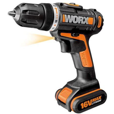 Atornillador eléctrico worx wx156 - talla