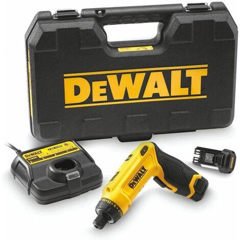 Atornillador Giroscópico 7,2V con dos baterías 1Ah y maletín Dewalt DCF680G2