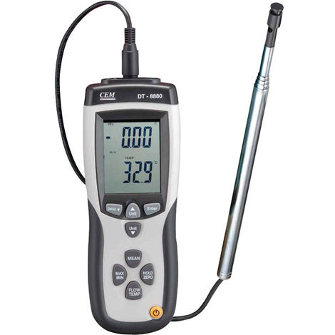 ATP AVM-8880 Hot Wire USB Logging Thermo-Anemometer