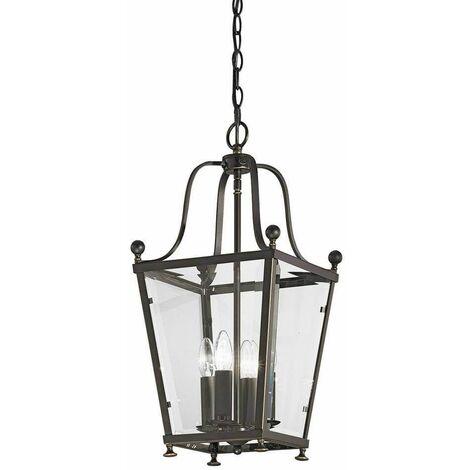 Atrio antique brass pendant light 4 Bulbs
