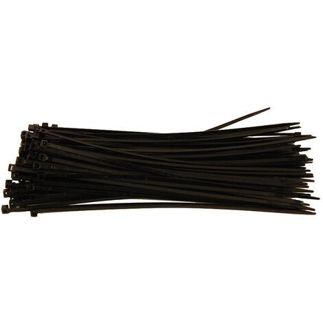 Colliers de serrage Rilsan Colson Nylon noir 300 mm x 4.8 mm 100 pièces