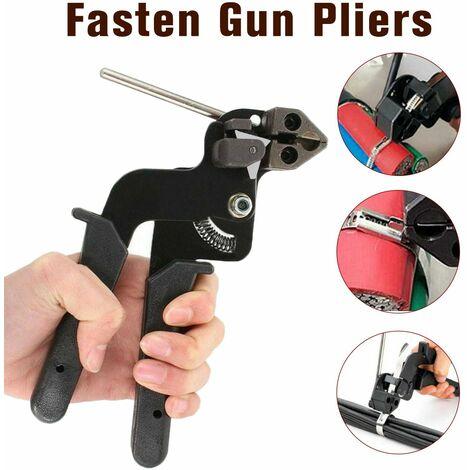 Attache de cable en acier inoxydable pinces de fixation pince de cable pistolet tendeur coupe-cable outil d'attache de cable