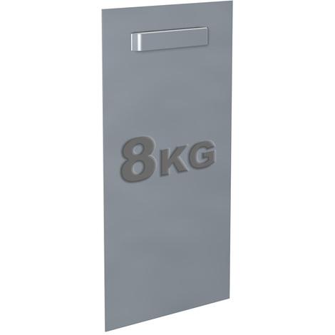 Attache Dibond 100 x 200 mm : max 8 kg