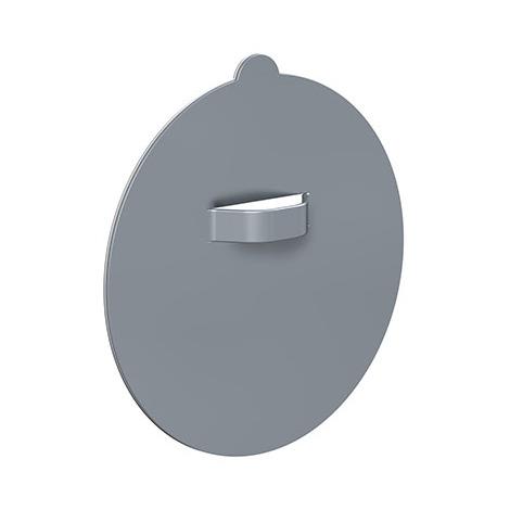 Attache Dibond ronde 42mm : max 0.700 KG