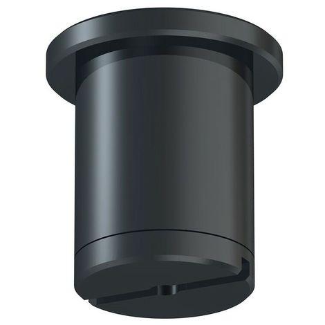 Attache plafond noir - Acier - 16 mm - Acier