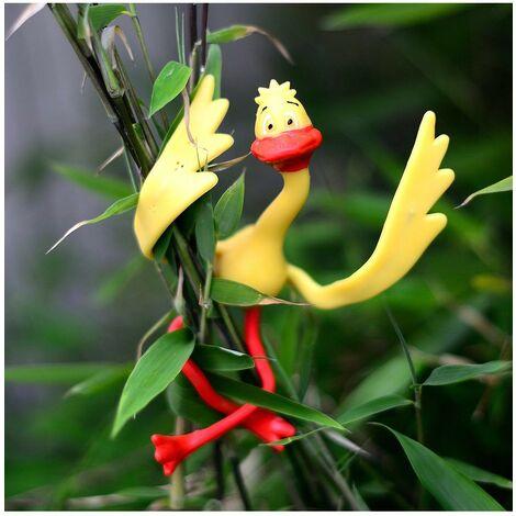 Attache-plantes canards - Lot de 4 - Astuceo